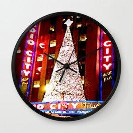 Radio City Music Hall Tree 2 Wall Clock