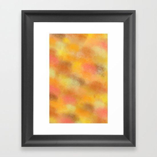 Don't say a word Framed Art Print