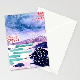 Balmaha Scottish Colourful Watercolour Painting Stationery Cards