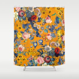 Summer Botanical Garden IX Shower Curtain