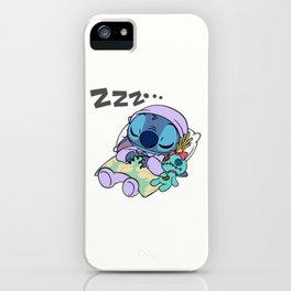 Sleeping Stitch iPhone Case