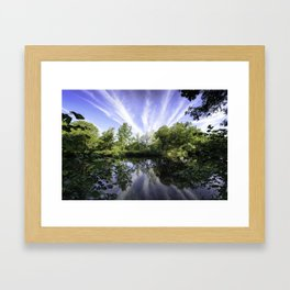 Hatfield Forest Lake England Essex Summer Framed Art Print