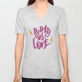 Bold As Love Unisex V-Neck