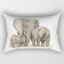 Segelov's Elephants Rectangular Pillow
