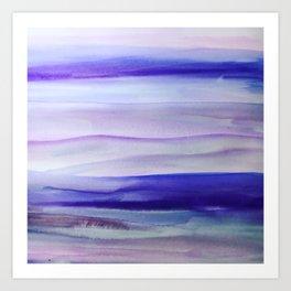 Purple Mountains' Majesty Art Print