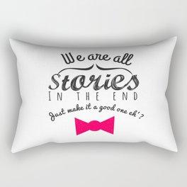 stories-doctor who Rectangular Pillow