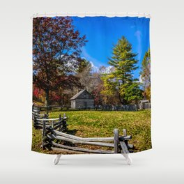 Fenced In Beauty in Virginia Shower Curtain