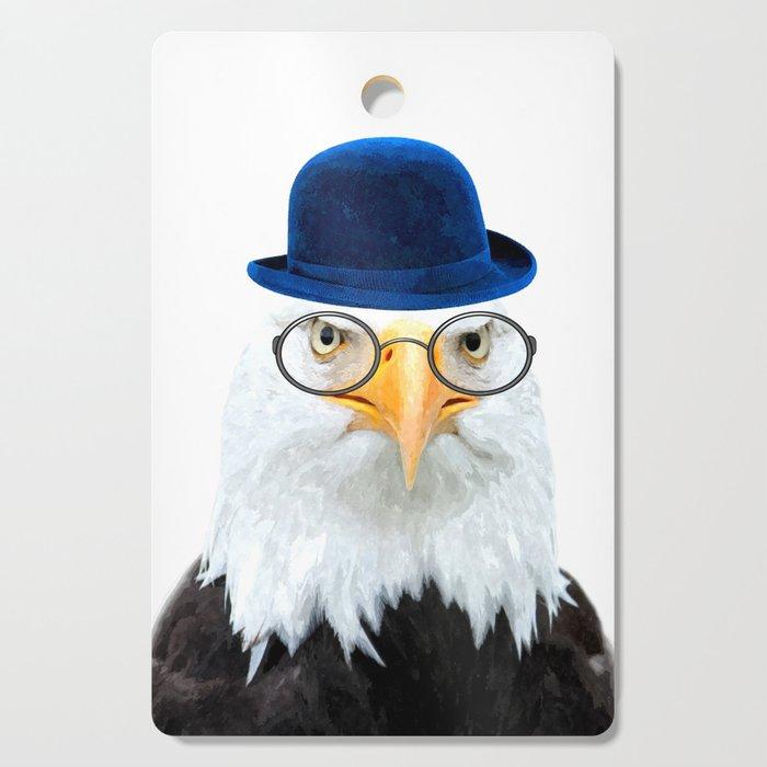 Funny Eagle Portrait Cutting Board
