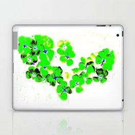 Green Heart Laptop & iPad Skin