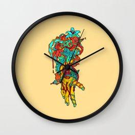 Abstract Hand Wall Clock