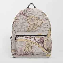 Ancient World Map 2 Backpack