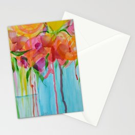 Running Roses Stationery Cards
