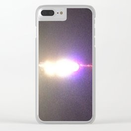 Abstracte Light Art in the Dark Version 35 Clear iPhone Case