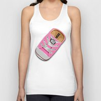 vans Tank Tops featuring Cute pink Vans all star baby shoes apple iPhone 4 4s 5 5s 5c, ipod, ipad, pillow case and tshirt by Three Second