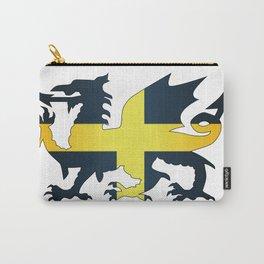 Welsh Dragon Saint David Flag Carry-All Pouch