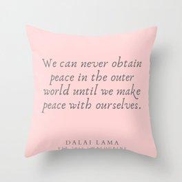 131  | Dalai Lama Quotes 190504 Throw Pillow