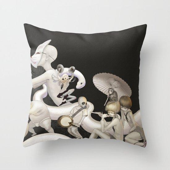 Matsuri (Festival) Throw Pillow