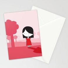 Polkadot Dress Stationery Cards
