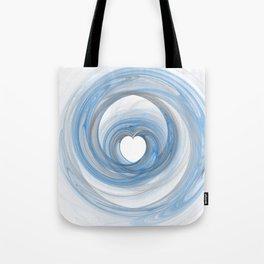 Valentine's Fractal VI - Light Tote Bag