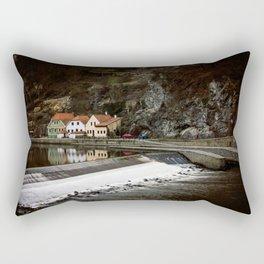 Little Cesky Krumlov Neighbourhood Rectangular Pillow