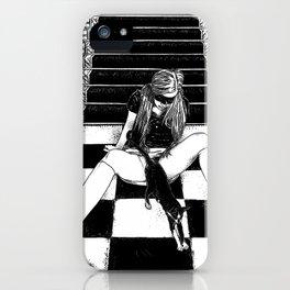 asc 461 - La fille du concierge (Troublemaker at The Saint James) iPhone Case