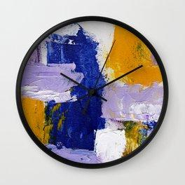 Abstract Expression #9 by Michael Moffa Wall Clock