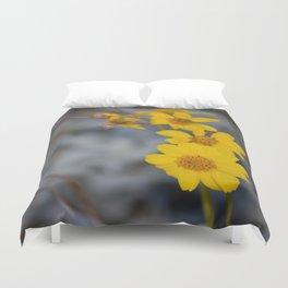 The Yellow Daisy Duvet Cover