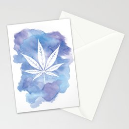 One Love: Blue Stationery Cards