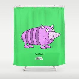 Porkal Snorkle Shower Curtain