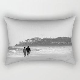 Each Other Rectangular Pillow