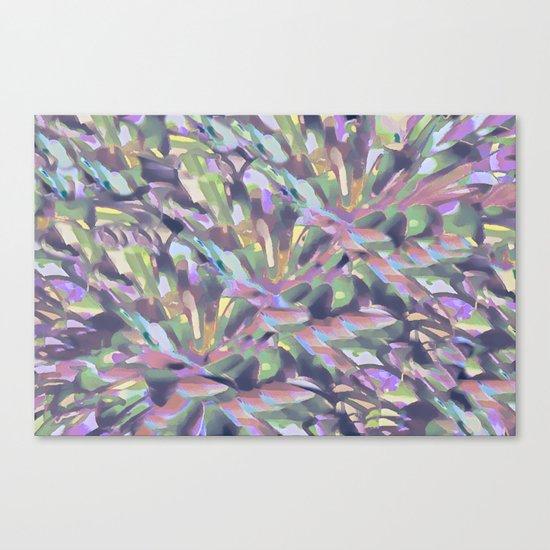 Soft Pastel Garden Abstract  Canvas Print