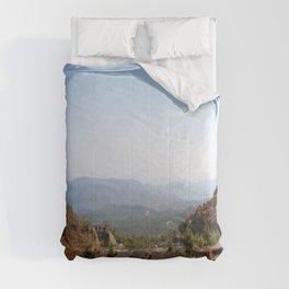 The Winding Road of Datca Peninsula, Turkey Comforters