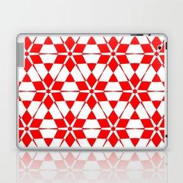 red white red pattern GOA Laptop & iPad Skin