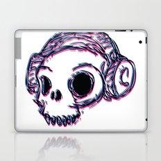 3D Skull Laptop & iPad Skin