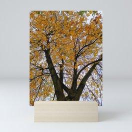 Autumn Tree Mini Art Print