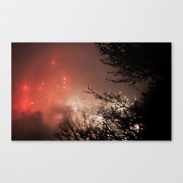 Glowing sky Canvas Print