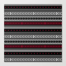 NOMADIK - tribal geometrics Canvas Print