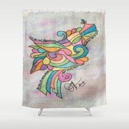 Sparrow Matthew 10:31 (KJV) Shower Curtain