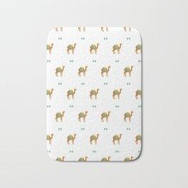 Camels all around Bath Mat