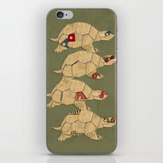 Heroes in a pizza box... Turtle Power! iPhone & iPod Skin