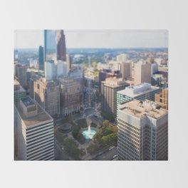 Philadelphia City Throw Blanket