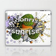 Zentangle Universe Sun, Moon & Stars Laptop & iPad Skin