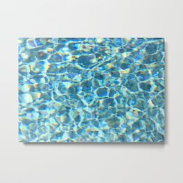 Swimmingpool #3 Metal Print