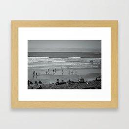 Run and Play Framed Art Print
