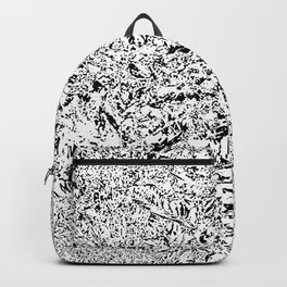 Flood by black pixels ... Backpack
