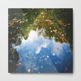 satisfying reflection Metal Print