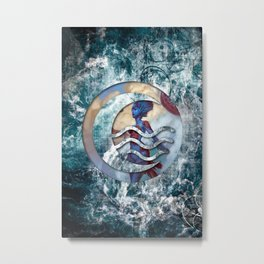 Kiora the waterbender Metal Print