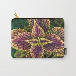 Plant Patterns - Coleus Colors Carry-All Pouch