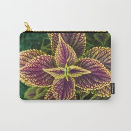 Plant Patterns - Coleus Colors Carry-All Pouch