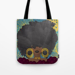 SHE KNOWS HER WORTH Tote Bag